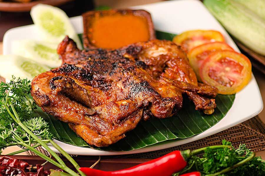 ayam bakar sambal khas cimahi