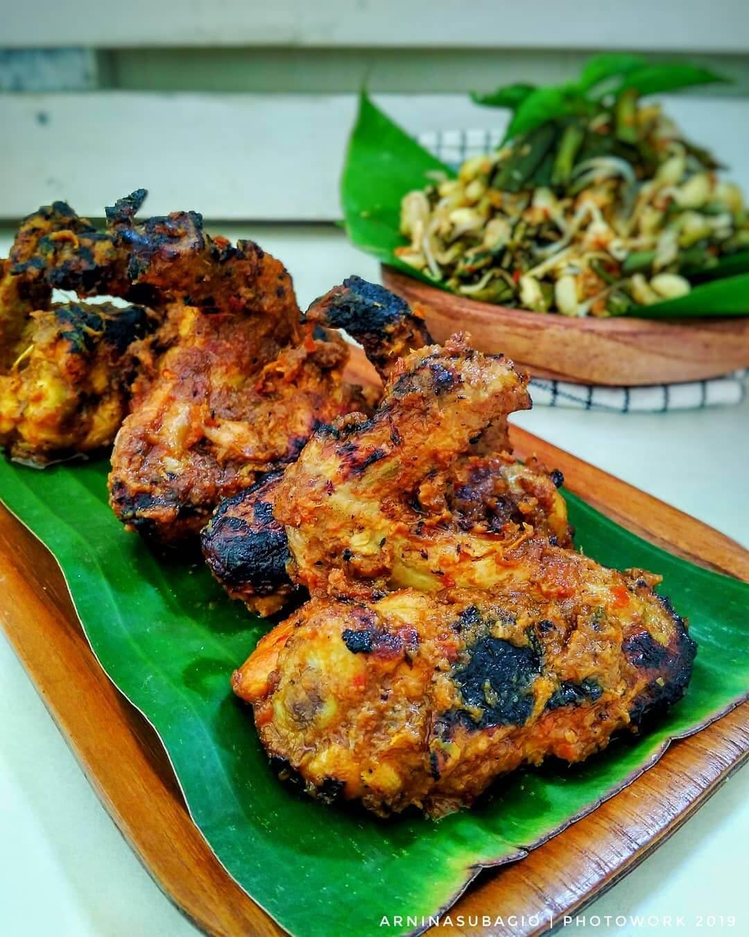 ayam panggang urap jombang
