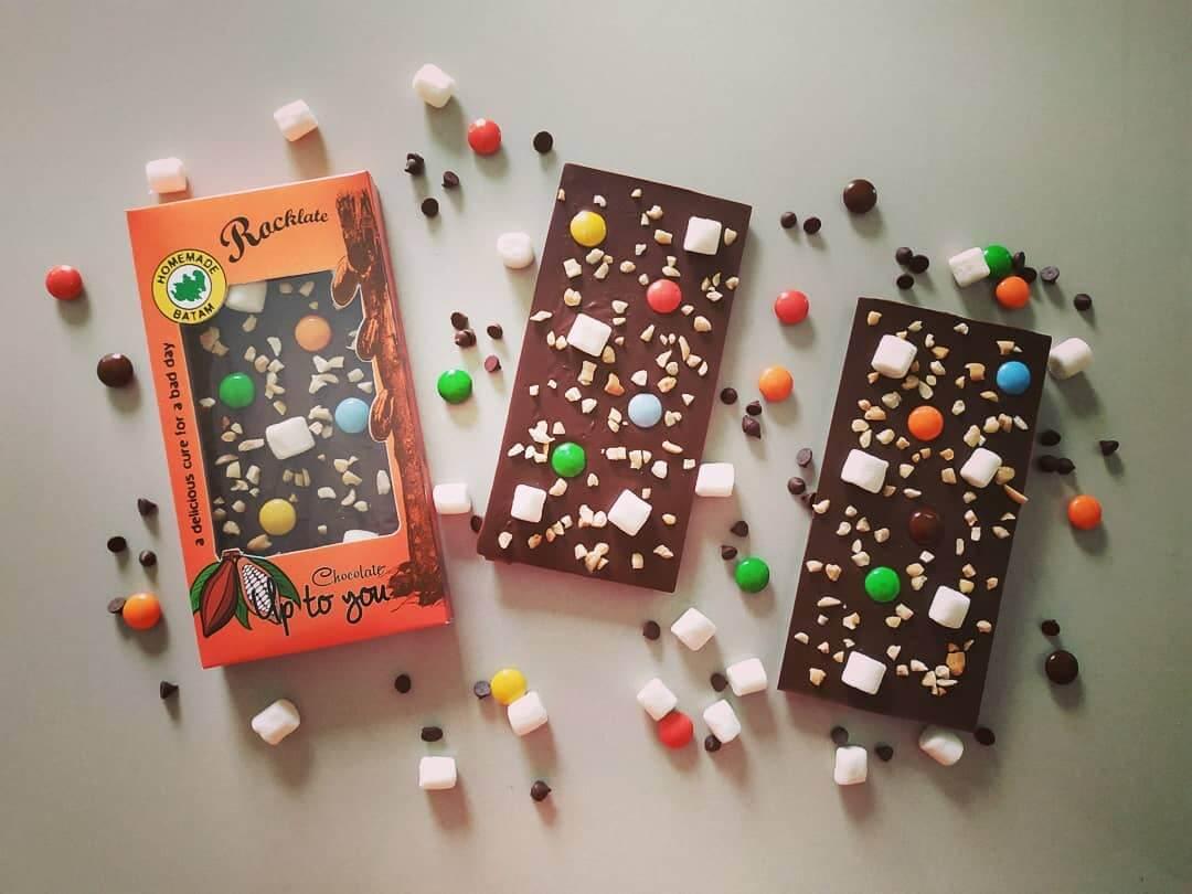 coklat rocklate khas batam