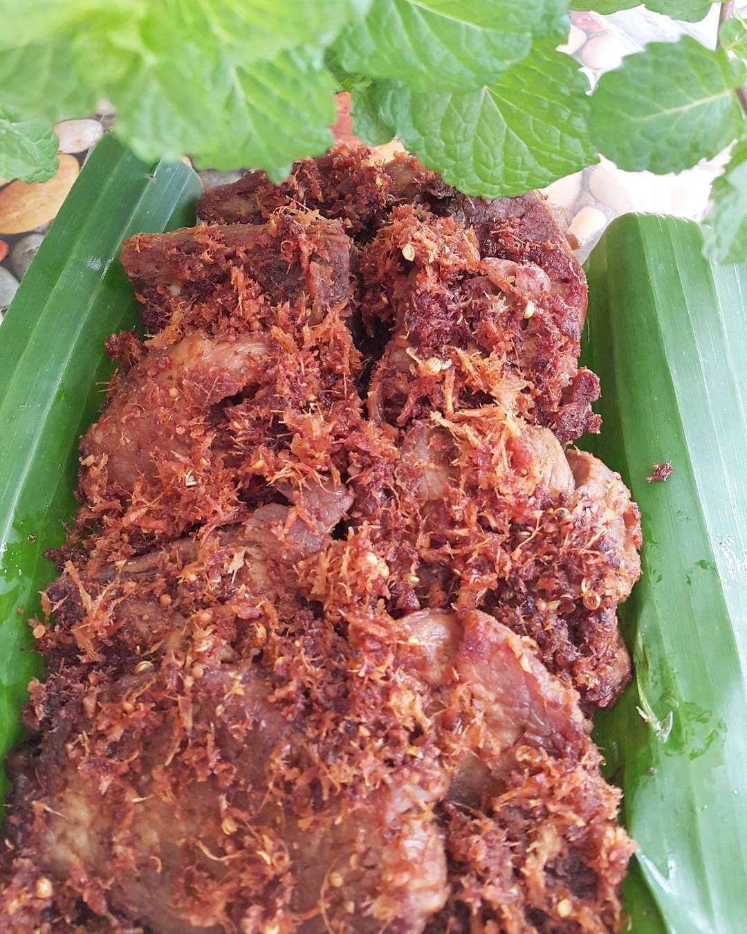 dendeng gepuk makanan khas wonosobo