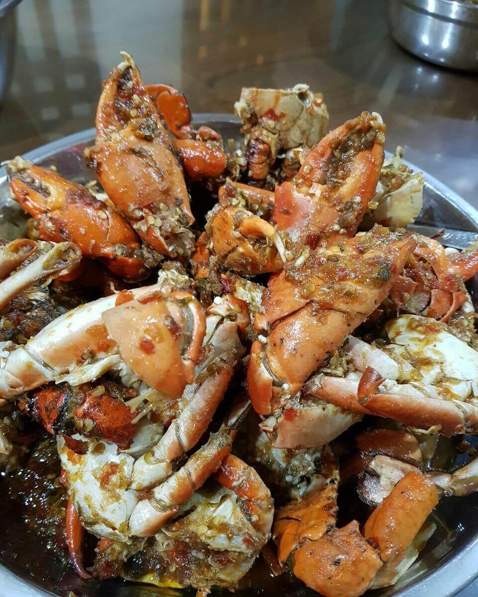 kepiting sambal ijo