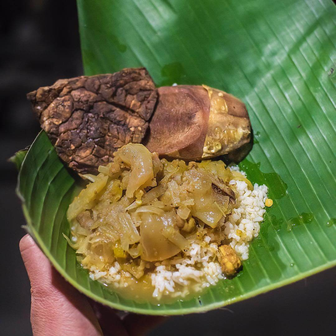 nasi kikil makanan khas jombang