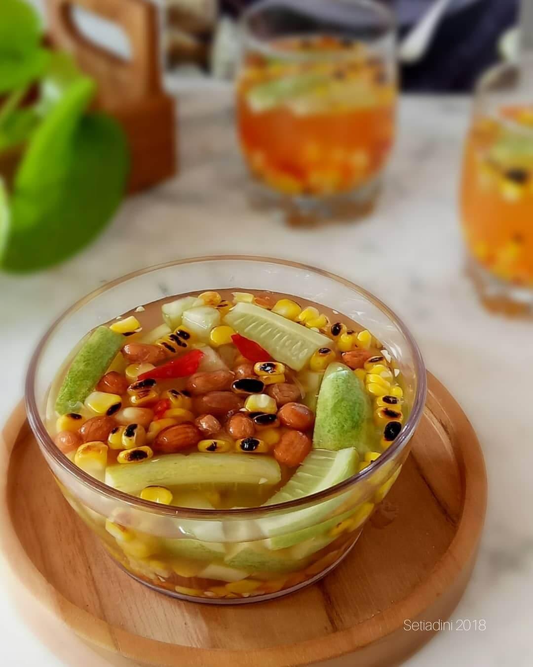 asinan jagung bakar kuliner khas bogor
