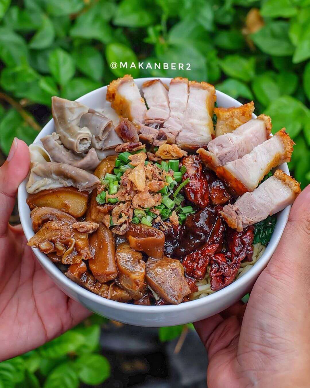 bakmi babi khas palembang