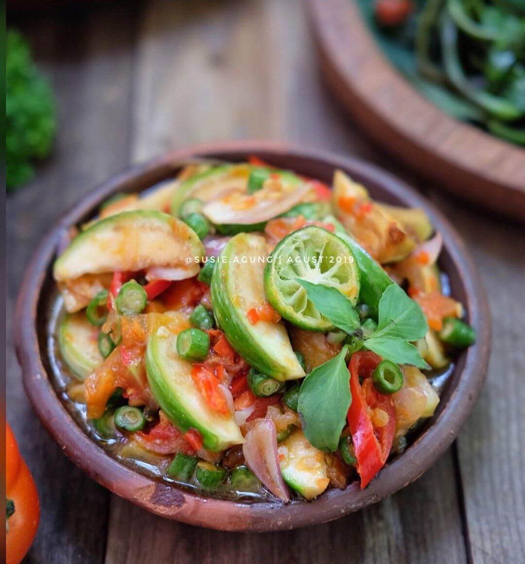 beberuk terong makanan khas lombok
