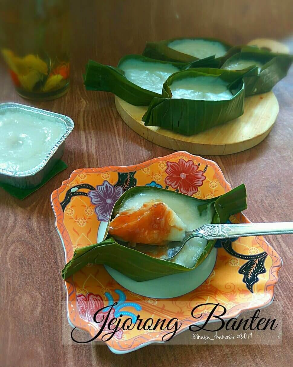 kue tradisional khas banten jojorong