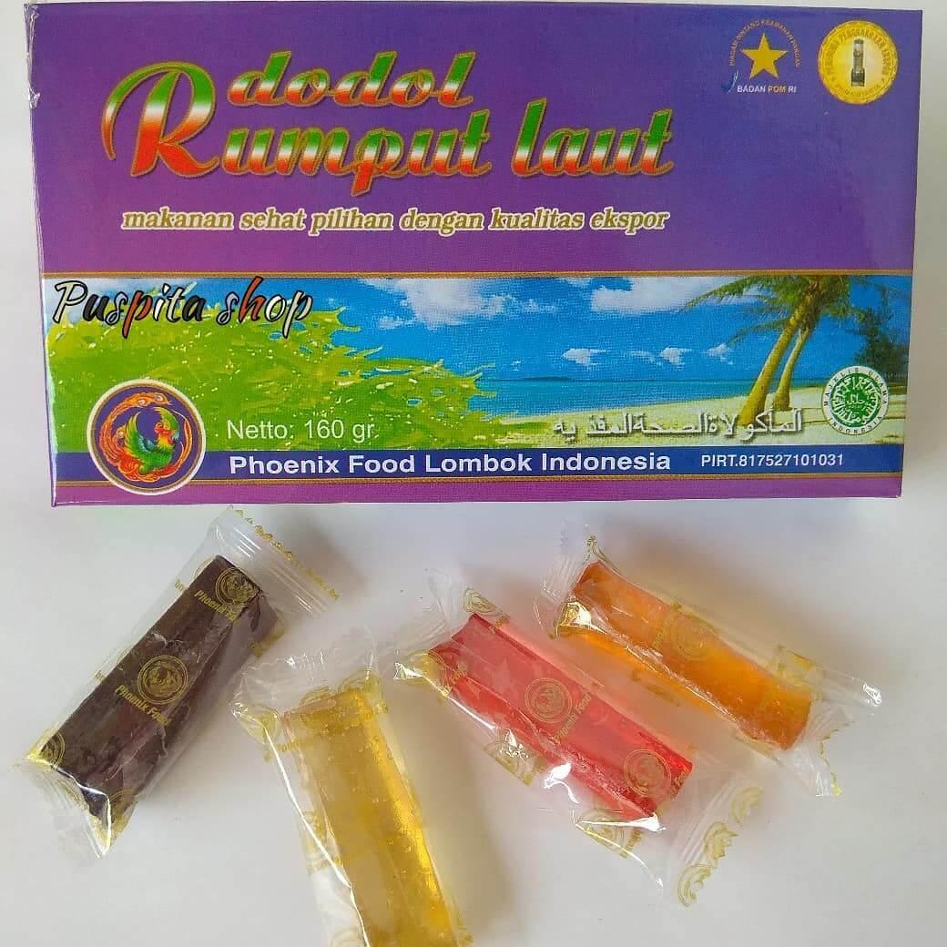 dodol dan manisan rumput laut lombok