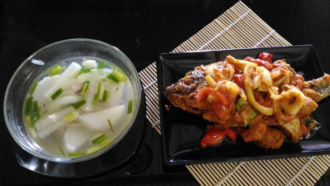 mujair rica rica kuliner khas papua