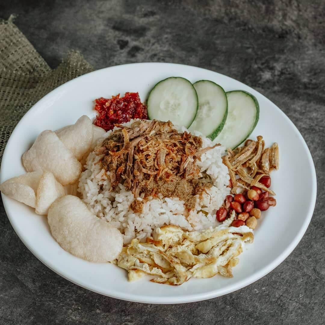 nasi gemuk khas jambi