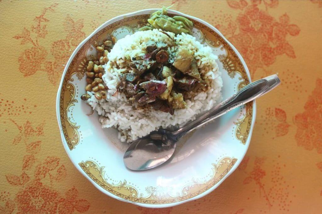 nasi kotaraja kuliner khas lombok