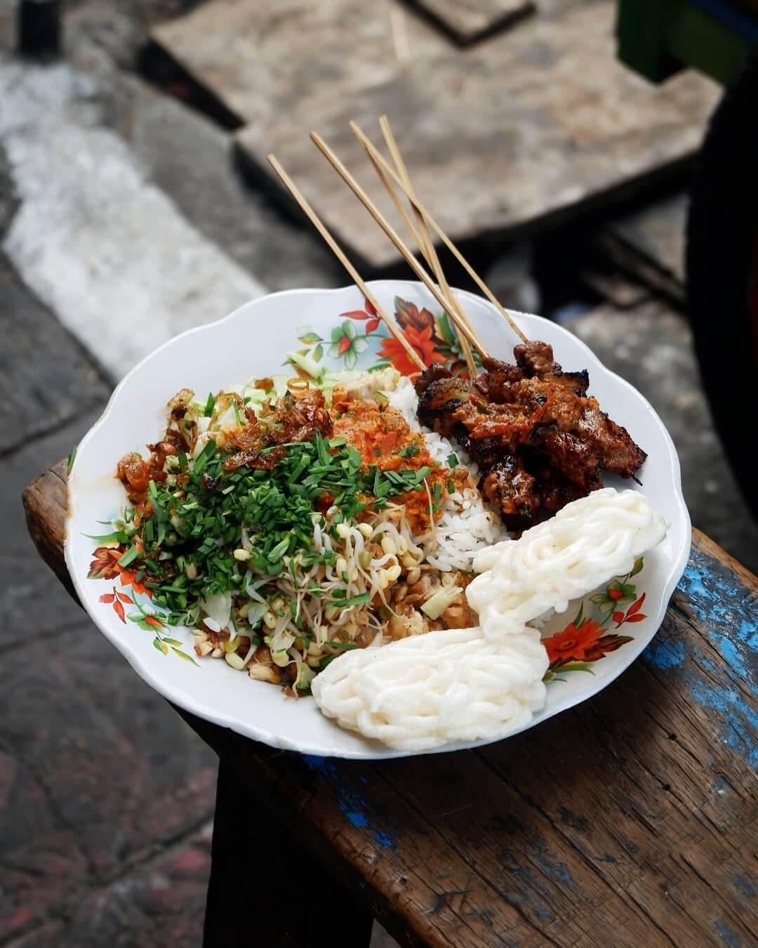nasi lengko khas cirebon