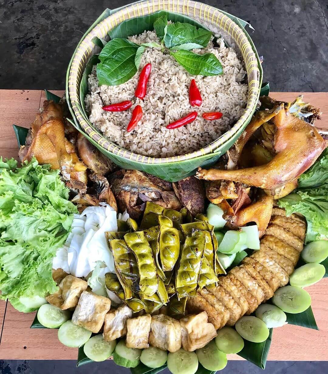 nasi liwet khas sunda