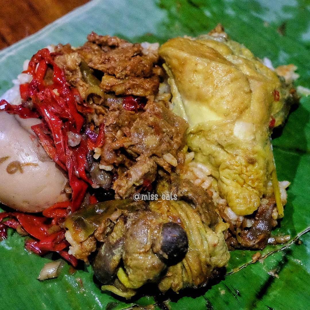 nasi ponggol khas tegal