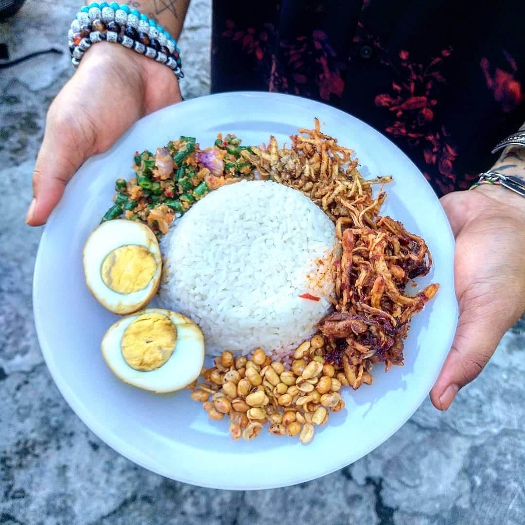 nasi puyung khas lombok