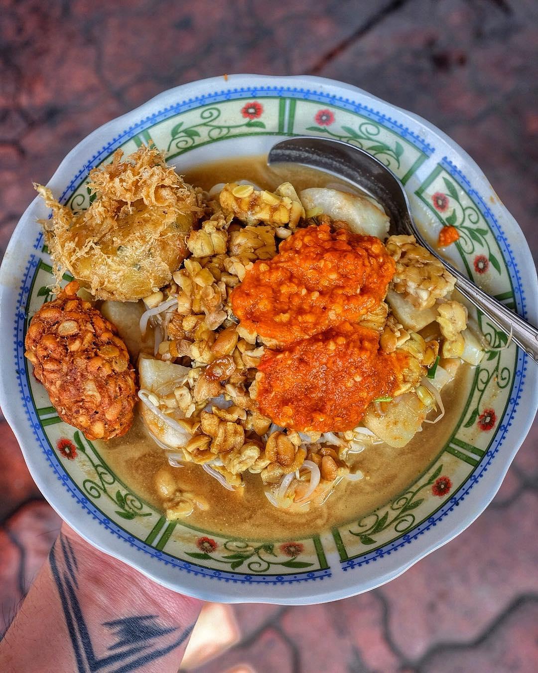 oren orem kuliner khas malang