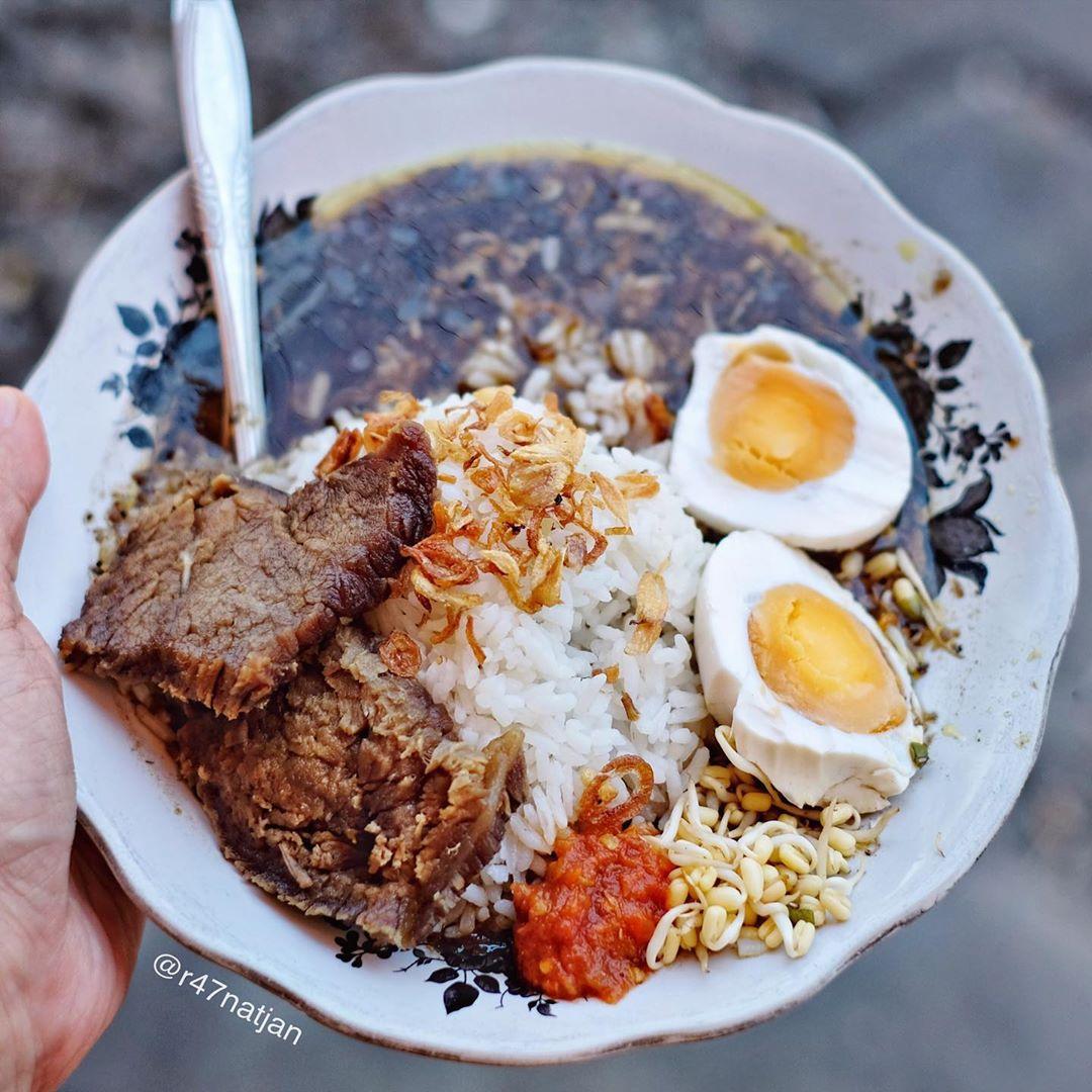 nasi rawon makanan khas malang