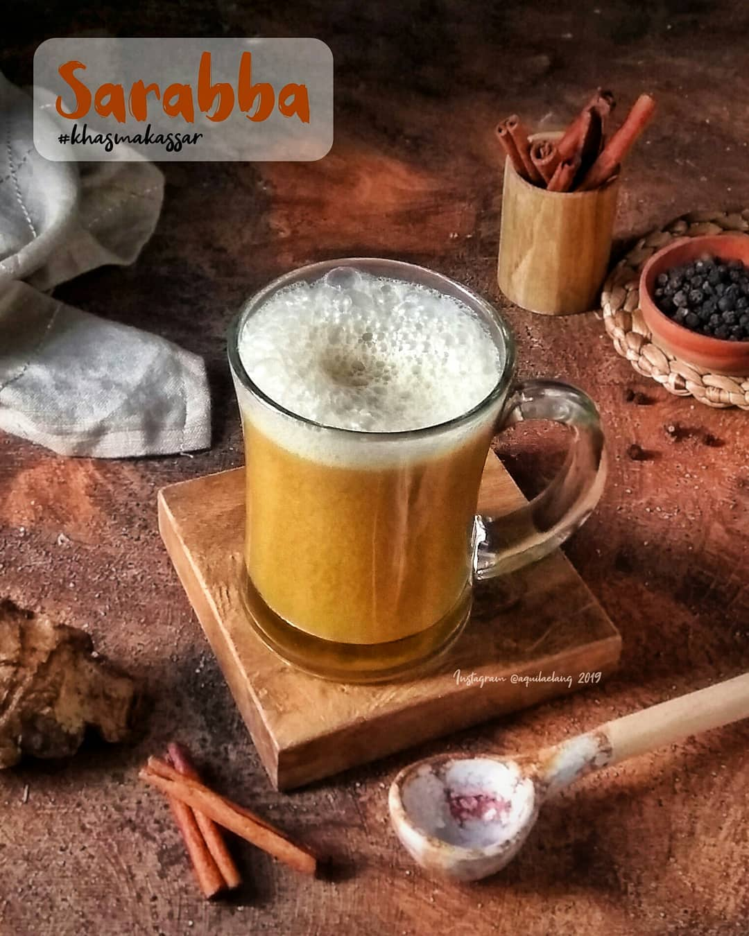 sarabba minuman khas makaasar