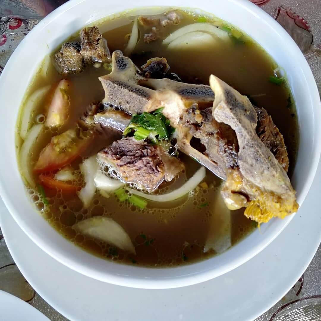 kuliner jambi sup tulang