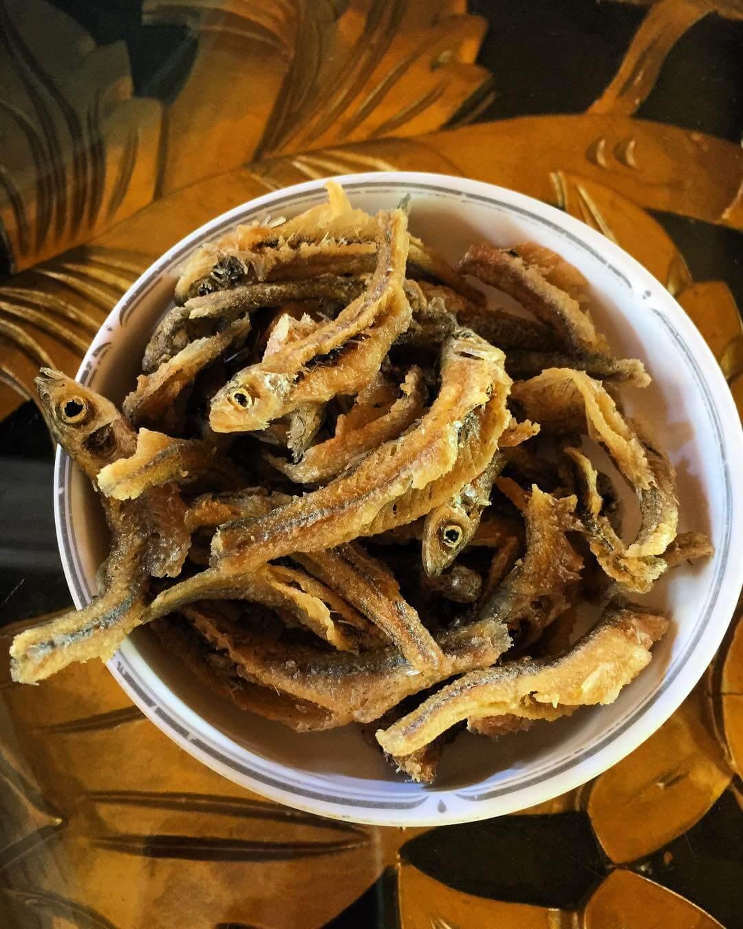 ikan seluang goreng banjar