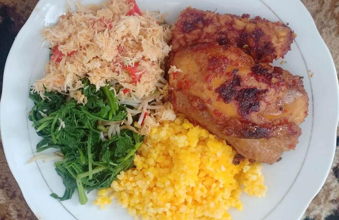 nasi jagung makanan khas probolinggo