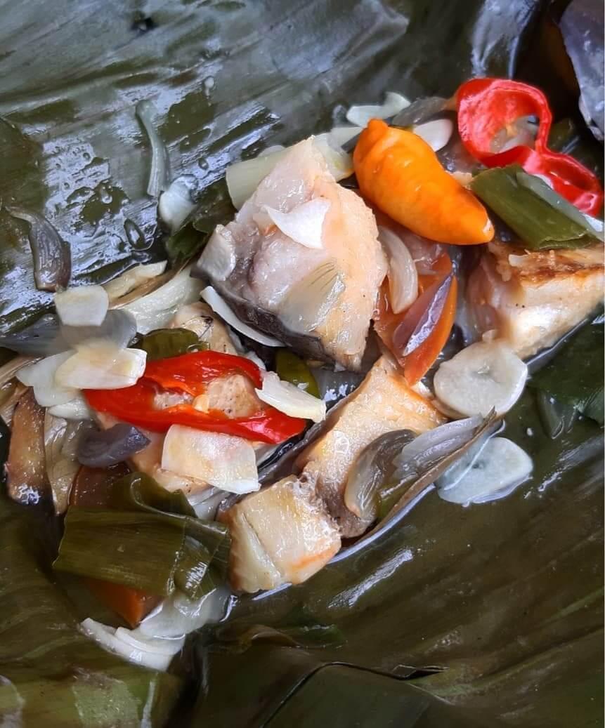 pepes ikan jambal kuliner karawang