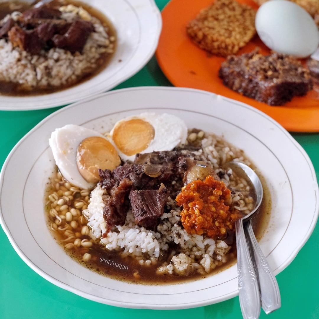 nasi rawon khas lamongan