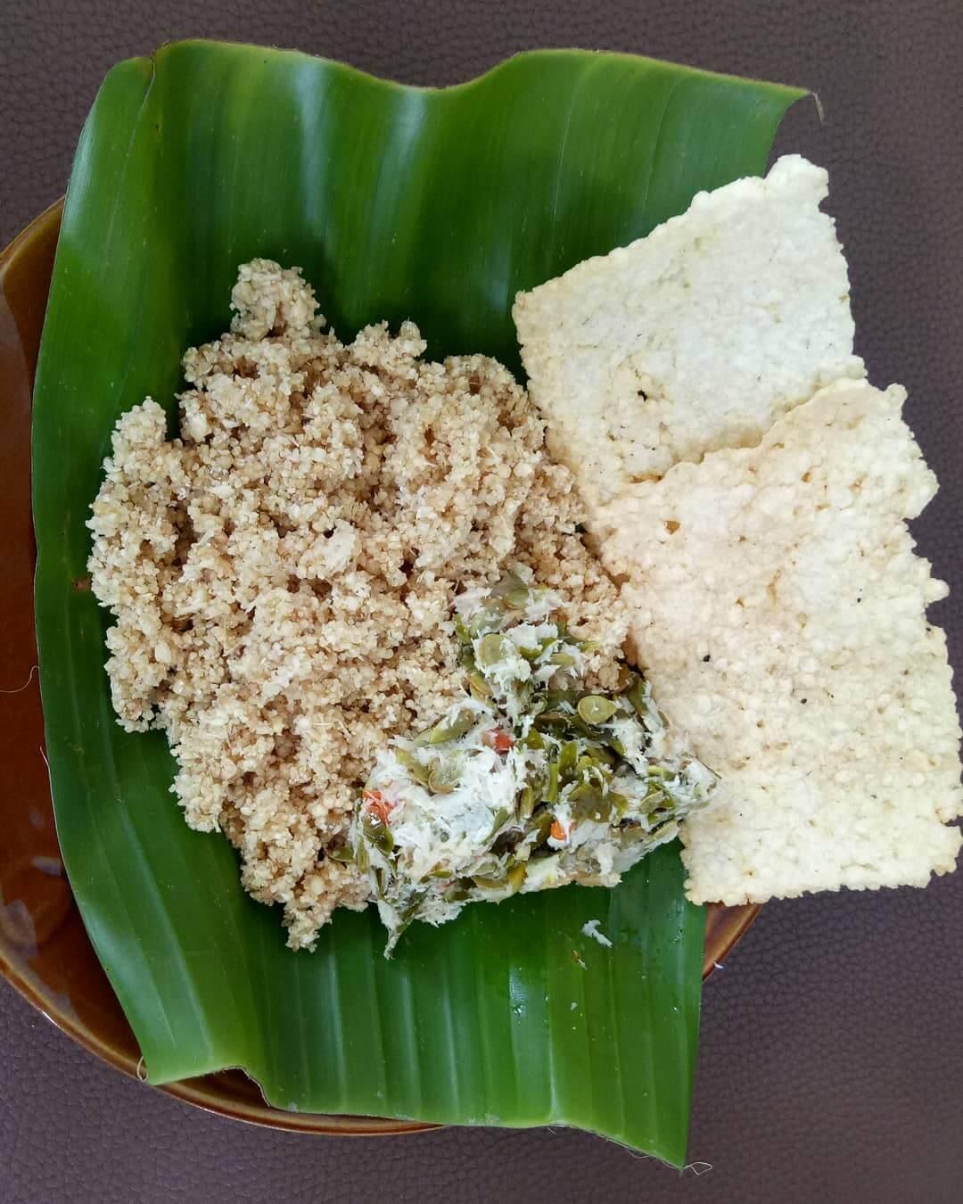 sego tiwul kuliner tradisional temanggung