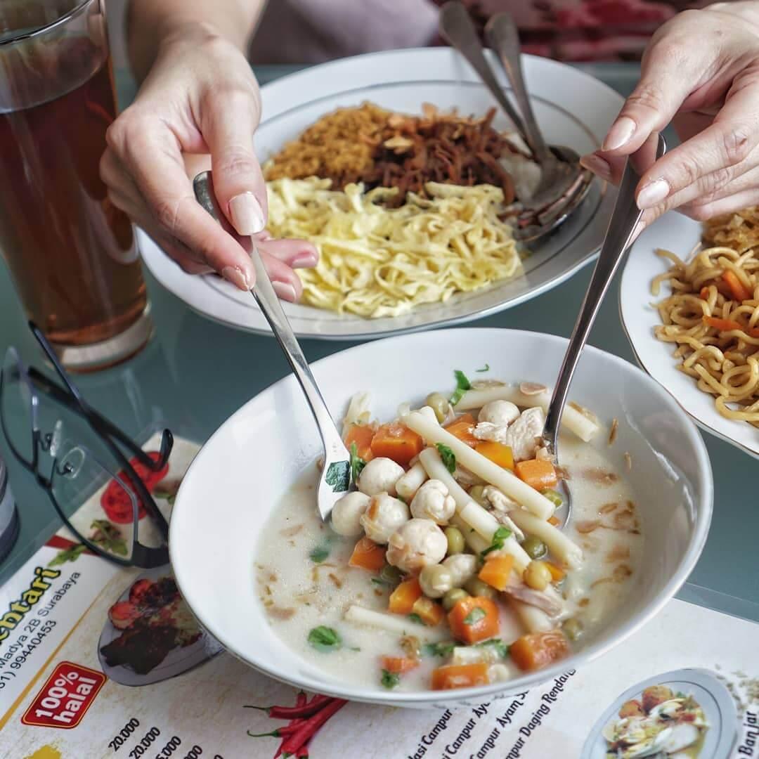 sop mutiara kuliner khas banjar