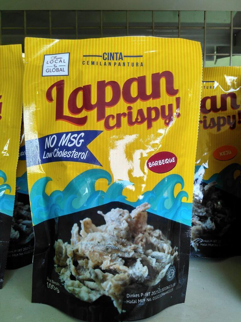 ikan lapan crispy khas subang
