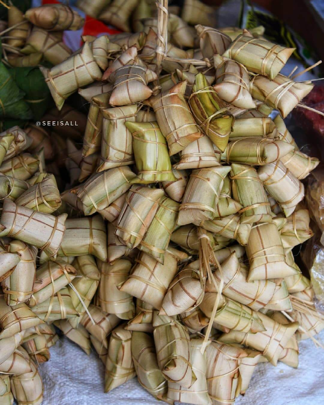 leupeut makanan tradisional khas kuningan