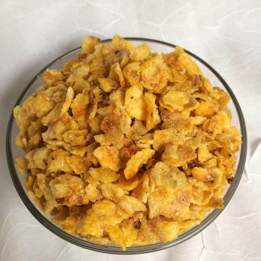 emping jagung makanan oleh oleh khas purwodadi