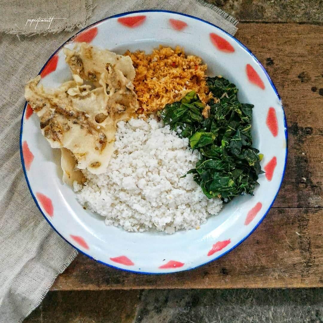 nasi jagung tradisional khas purwodadi
