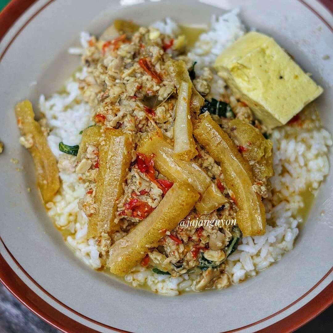 nasi tumpang kuliner khas nganjuk